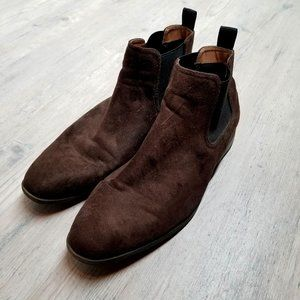 H&M Suede Leather Chelsea Boots. Brand New!